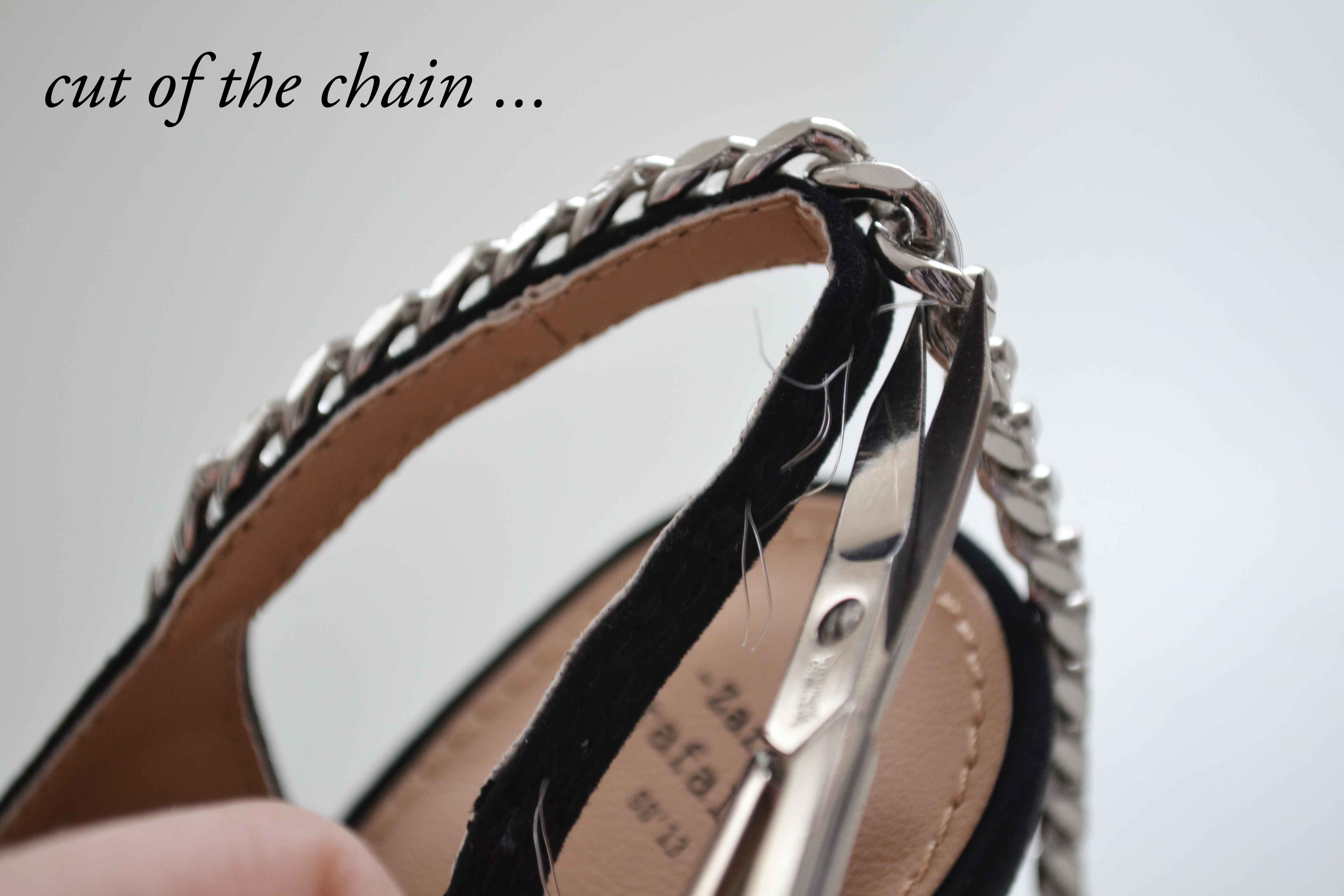 cut of the chain