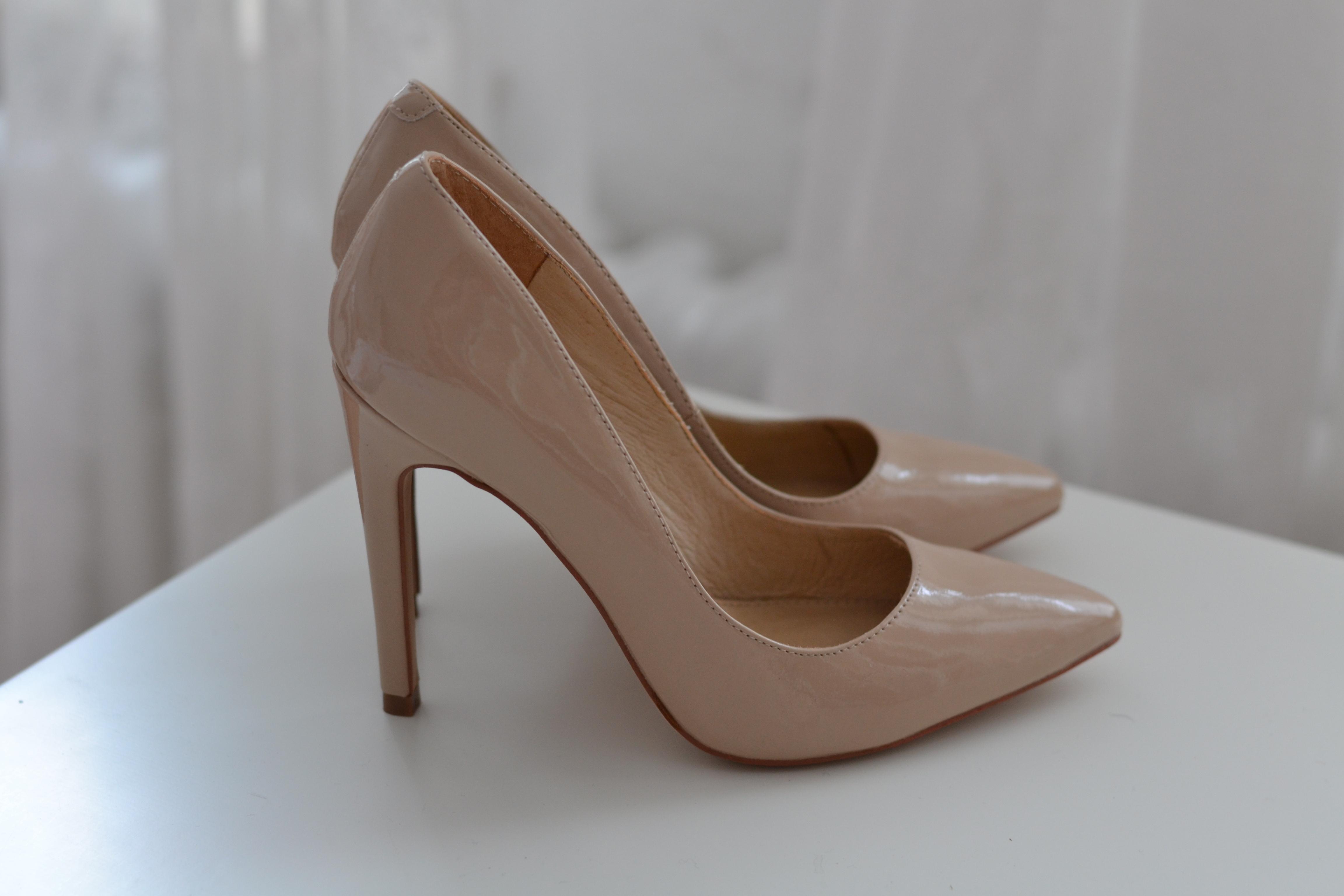 Aldo Frited Black Court Shoes